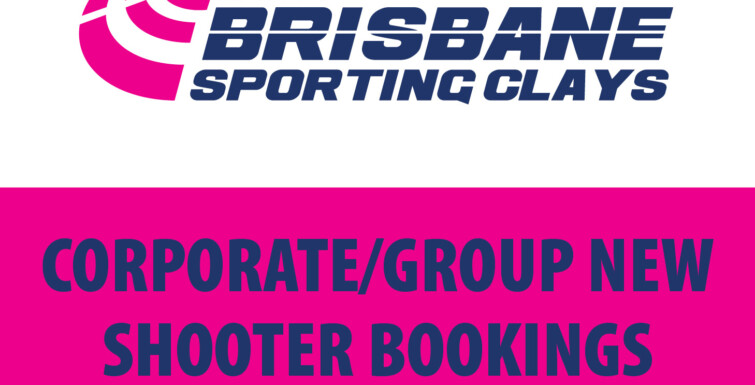 Corporate/Group/New Shooter Sessions are now Open!
